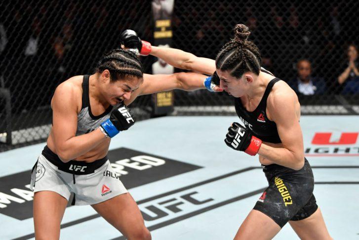 UFCファイトナイト・ワシントン:マリナ・ロドリゲス vs. シンシア・カルビーヨ【アメリカ・ワシントンD.C/2019年12月7日(Photo by Jeff Bottari/Zuffa LLC via Getty Images)】