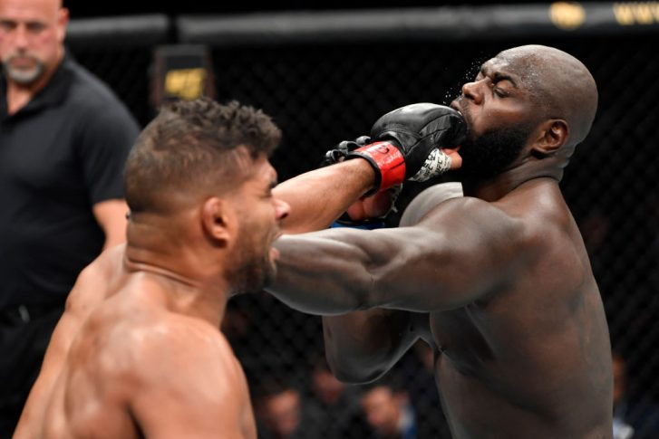 UFCファイトナイト・ワシントン:アリスター・オーフレイム vs. ジャルジーニョ・ホーゼンストライク【アメリカ・ワシントンD.C/2019年12月7日(Photo by Jeff Bottari/Zuffa LLC via Getty Images)】