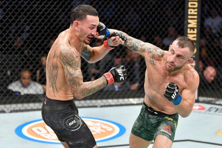 UFC 245:マックス・ホロウェイ vs. アレックス・ボルカノフスキー【アメリカ・ネバダ州ラスベガス/2019年12月14日(Photo by Josh Hedges/2019 Josh Hedges)】