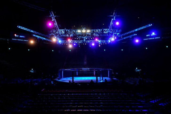 UFCファイトナイト釜山:オクタゴン【大韓民国・釜山東莱区/2019年12月21日(Photo by Jeff Bottari/Zuffa LLC via Getty Images)】