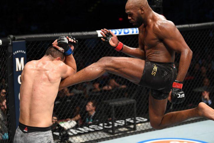 UFC 247:ジョン・ジョーンズ vs. ドミニク・レイエス【アメリカ・テキサス州ヒューストン/2020年2月8日(Photo by Josh Hedges/Zuffa LLC via Getty Images)】