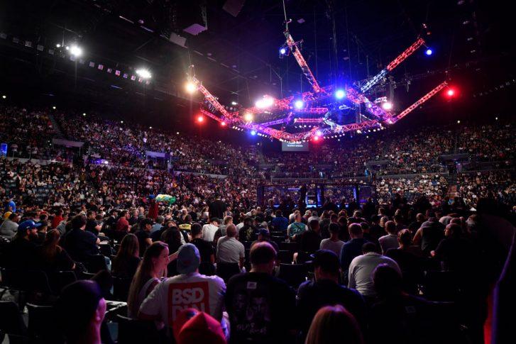 UFCファイトナイト・オークランド:オクタゴン【ニュージーランド・オークランド/2020年2月23日(Photo by Jeff Bottari/Zuffa LLC)】