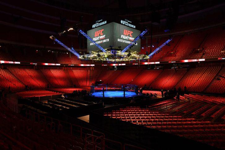 UFCファイトナイト・ストックホルム:オクタゴン【スウェーデン・ストックホルム/2019年6月1日(Photo by Jeff Bottari/Zuffa LLC/Zuffa LLC via Getty Images)】