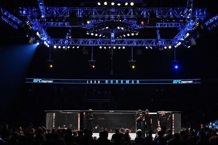 UFCファイトナイト・サスカトゥーン:オクタゴン【カナダ・サスカチュワン州サスカトゥーン/2015年8月23日(Photo by Jeff Bottari/Zuffa LLC/Zuffa LLC via Getty Images)】