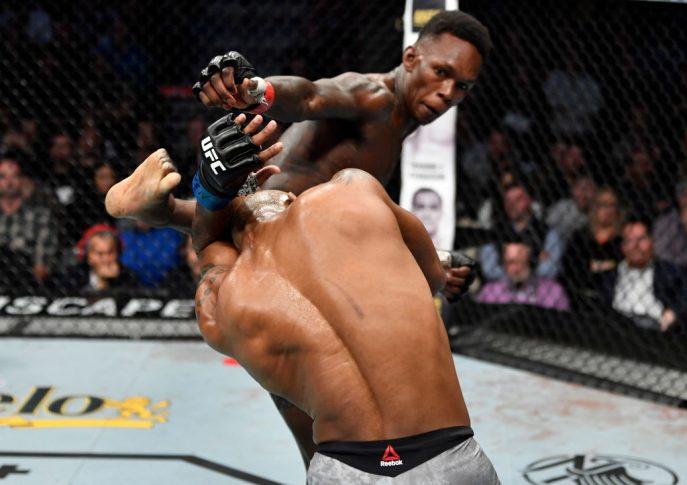 UFC 248:イズラエル・アデサニヤ vs. ヨエル・ロメロ【アメリカ・ネバダ州ラスベガス/2020年3月7日(Photo by Jeff Bottari/Zuffa LLC)】