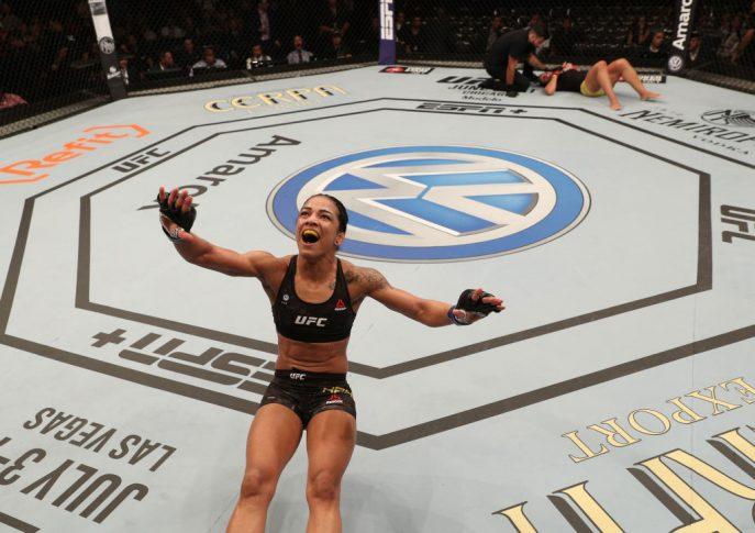 UFC 237:タリタ・ベルナルド vs. ビビアン・アラウジョ【ブラジル バーハ・ダ・チジュカ/2019年5月11日(Photo by Buda Mendes/Zuffa LLC/Zuffa LLC via Getty Images)】