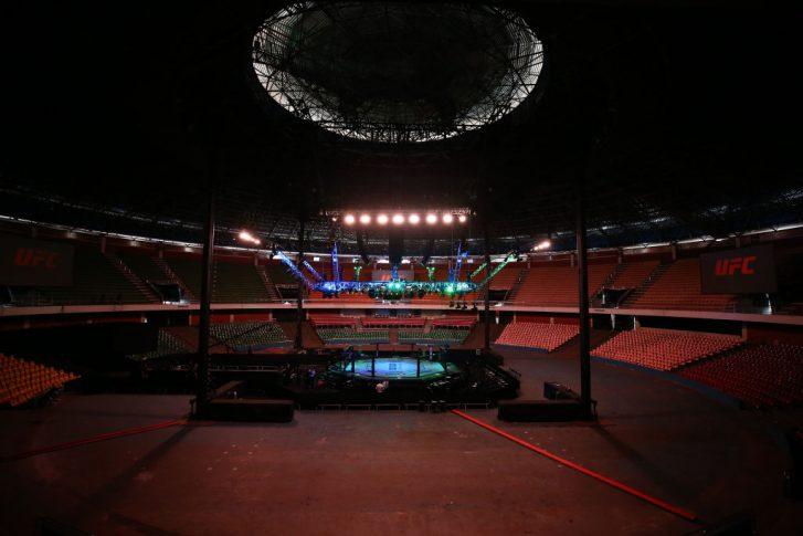UFCファイトナイト・ブラジリア:オクタゴン【ブラジル・ブラジリア/2020年3月14日(Photo by Buda Mendes/Zuffa LLC)】