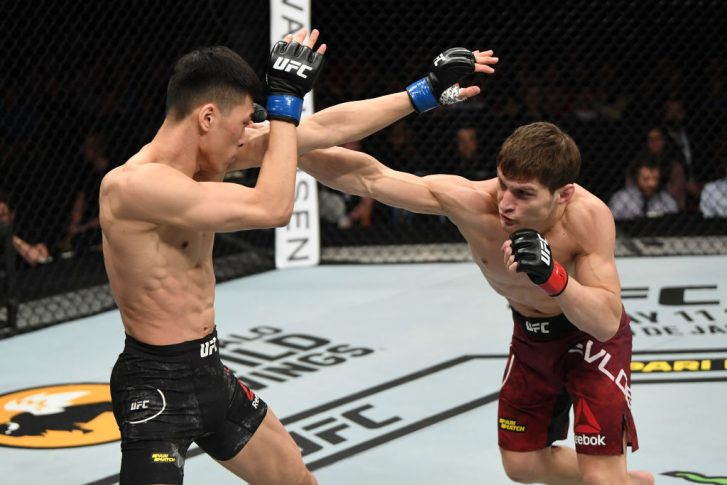 UFCファイトナイト・ロシア:モフサル・エフロエフ vs. チェ・スンウ【ロシア・サンクトペテルブルグ/2019年4月20日(Photo by Jeff Bottari/Zuffa LLC/Zuffa LLC via Getty Images)】