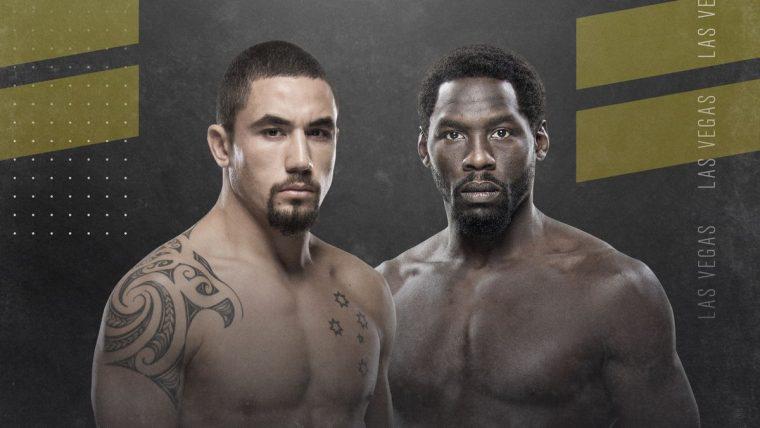 UFC 248:ロバート・ウィテカー vs. ジャレッド・キャノニア【UFC】
