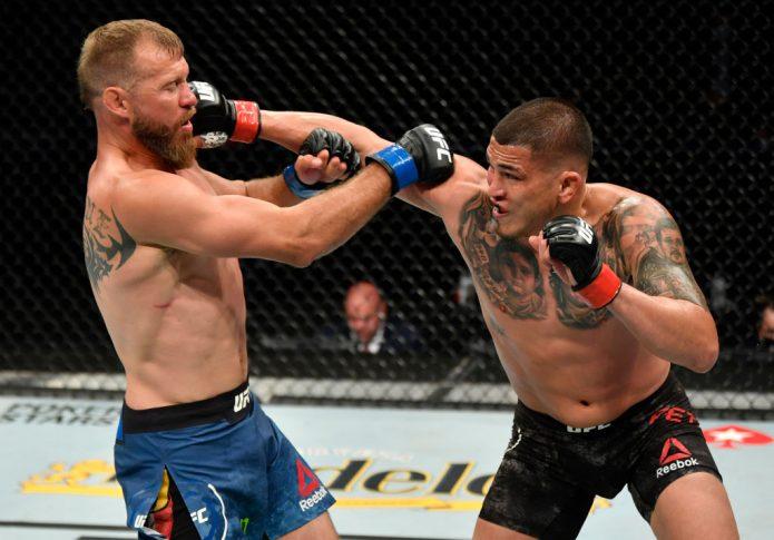 UFC 249:アンソニー・ペティス vs. ドナルド・セラーニ【アメリカ・フロリダ州ジャクソンビル/2020年5月9日(Photo by Jeff Bottari/Zuffa LLC)】