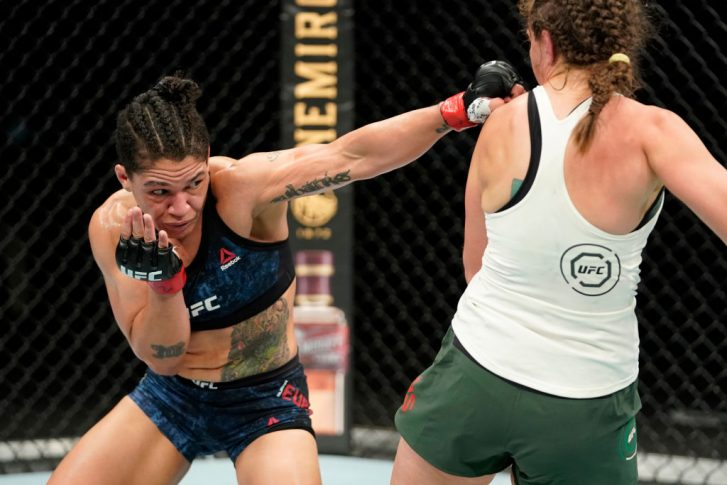 UFCファイトナイト・ジャクソンビル:シジャラ・ユーバンクス vs. サラ・モラス【アメリカ・フロリダ州ジャクソンビル/2020年5月13日(Photo by Cooper Neill/Zuffa LLC via Getty Images)】