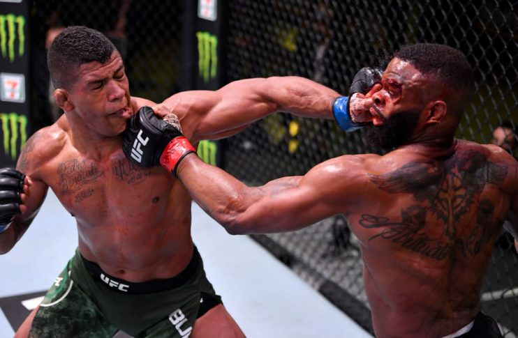UFCファイトナイト・ラスベガス:タイロン・ウッドリー vs. ギルバート・バーンズ【アメリカ・ネバダ州ラスベガス/2020年5月30日(Photo by Jeff Bottari/Zuffa LLC)】