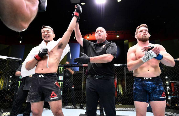 UFCファイトナイト・ラスベガス 4:佐藤天 vs. ジェイソン・ウィット【アメリカ・ネバダ州ラスベガス/2020年6月27日(Photo by Chris Unger/Zuffa LLC)】