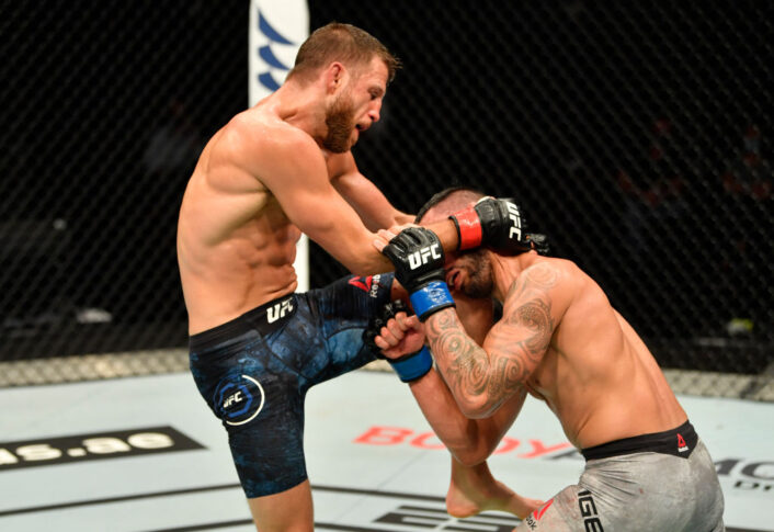 UFCファイトナイト・ファイトアイランド1:カルヴィン・ケーター vs. ダン・イゲ【アラブ首長国連邦・アブダビ/2020年7月16日(Photo by Jeff Bottari/Zuffa LLC via Getty Images)】