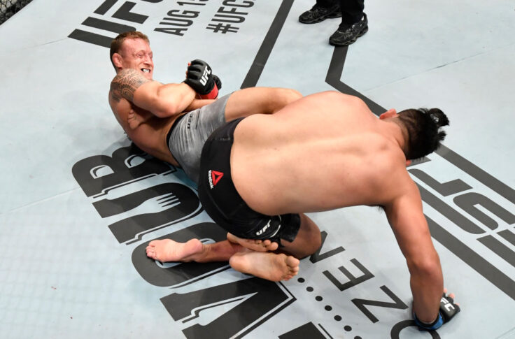 UFCファイトナイト・ファイトアイランド2:ジャック・ハーマンソン vs. ケルヴィン・ガステラム【アラブ首長国連邦・アブダビ/2020年7月19日(Photo by Jeff Bottari/Zuffa LLC via Getty Images)】