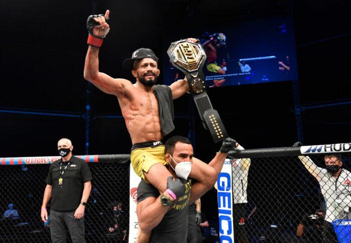 UFCファイトナイト・ファイトアイランド2:デイブソン・フィゲイレード vs. ジョセフ・ベナビデス【アラブ首長国連邦・アブダビ/2020年7月19日(Photo by Jeff Bottari/Zuffa LLC via Getty Images)】