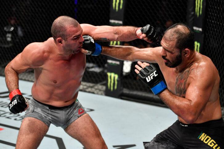 UFCファイトナイト・ファイトアイランド3:マウリシオ・フアvs. アントニオ・ホジェリオ・ノゲイラ【アラブ首長国連邦・アブダビ/2020年7月26日(Photo by Jeff Bottari/Zuffa LLC via Getty Images)】