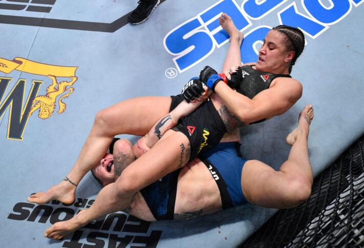 UFCファイトナイト・ラスベガス5:ジョアン・コールダウッド vs. ジェニファー・マイア【アメリカ・ネバダ州ラスベガス/2020年8月1日(Photo by Chris Unger/Zuffa LLC via Getty Images)】