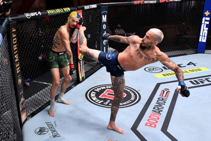 UFC 252:ショーン・オマリー vs. マルロン・ヴェラ【アメリカ・ネバダ州ラスベガス/2020年8月15日(Photo by Jeff Bottari/Zuffa LLC)】