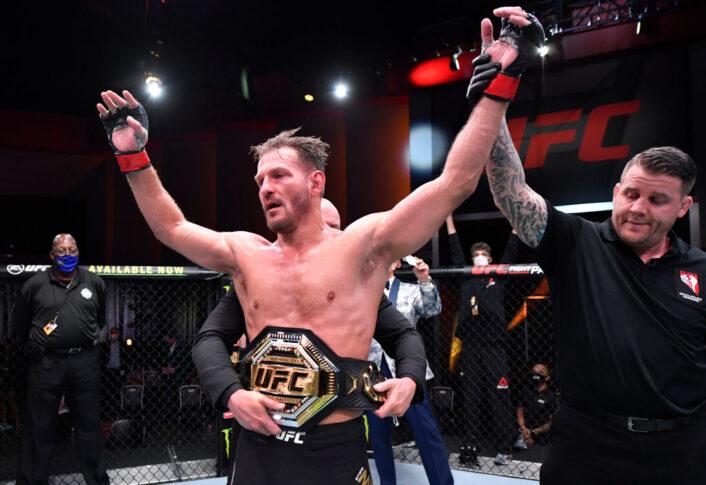 UFC 252:スティペ・ミオシッチ vs. ダニエル・コーミエ【アメリカ・ネバダ州ラスベガス/2020年8月15日(Photo by Jeff Bottari/Zuffa LLC)】