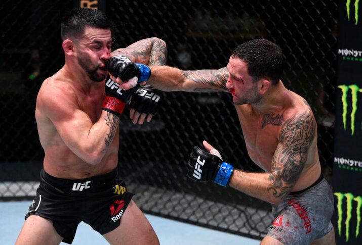 UFCファイトナイト・ラスベガス7:ペドロ・ムニョス vs. フランキー・エドガー【アメリカ・ネバダ州ラスベガス/2020年8月22日(Photo by Chris Unger/Zuffa LLC)】
