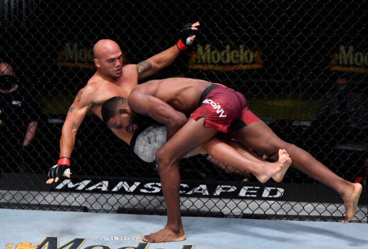 UFCファイトナイト・ラスベガス8:ロビー・ローラー vs. ニール・マグニー【アメリカ・ネバダ州ラスベガス/2020年8月29日(Photo by Jeff Bottari/Zuffa LLC)】