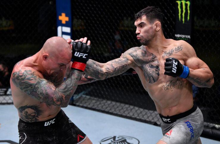 UFCファイトナイト・ラスベガス8:アンソニー・スミス vs. アレクサンダル・ラキッチ【アメリカ・ネバダ州ラスベガス/2020年8月29日(Photo by Jeff Bottari/Zuffa LLC)】