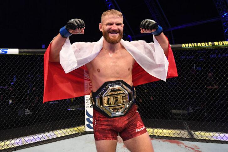 UFC 253:ドミニク・レイエス vs. ヤン・ブラホビッチ【アラブ首長国連邦・アブダビ/2020年9月27日(Photo by Josh Hedges/Zuffa LLC)】