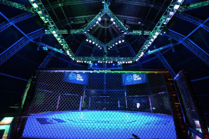 UFCファイトナイト・ファイトアイランド4:オクタゴン【アラブ首長国連邦・アブダビ/2020年10月4日(Photo by Josh Hedges/Zuffa LLC)】