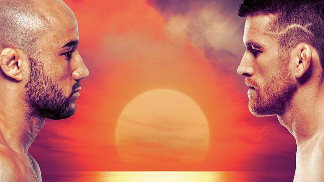 UFCファイトナイト・ファイトアイランド5:モラエス vs. サンドヘイゲン