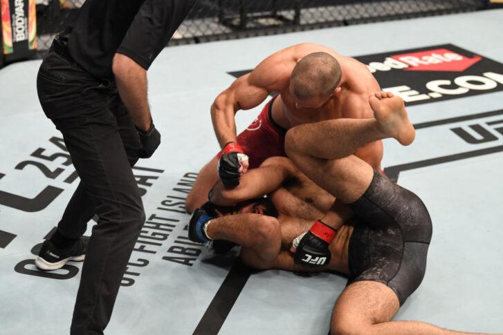 UFCファイトナイト・ファイトアイランド5:トム・ブリーズ vs. K.B.ブラー【アラブ首長国連邦・アブダビ/2020年10月11日(Photo by Josh Hedges/Zuffa LLC)】