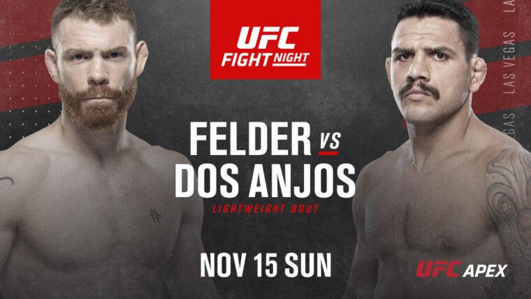 UFCファイトナイト・ラスベガス14:ポール・フェルダー vs. ハファエル・ドス・アンジョス【UFC】