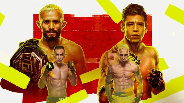 UFC 256:フィゲイレード vs. モレノ