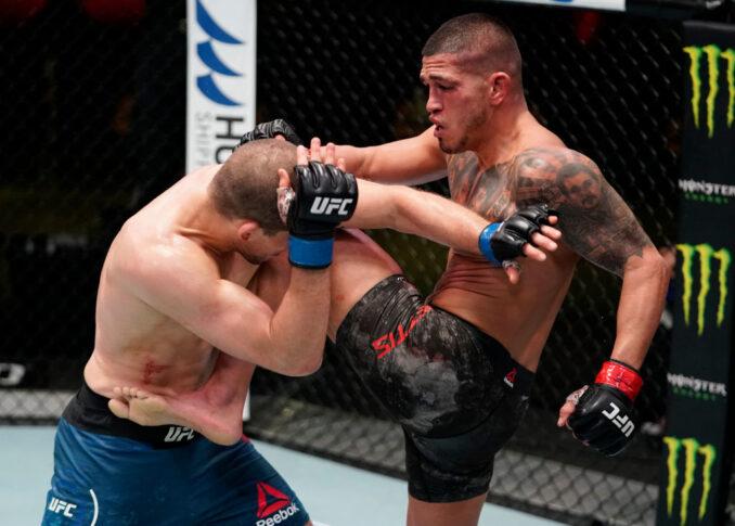 UFCファイトナイト・ラスベガス17:アンソニー・ペティス vs. アレックス・モロノ【アメリカ・ネバダ州ラスベガス/2020年12月19日(Photo by Cooper Neill/Zuffa LLC)】