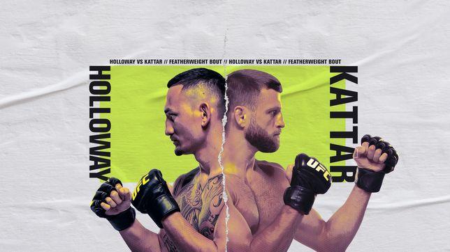 UFCファイトナイト・ファイトアイランド7:ホロウェイ vs. ケーター
