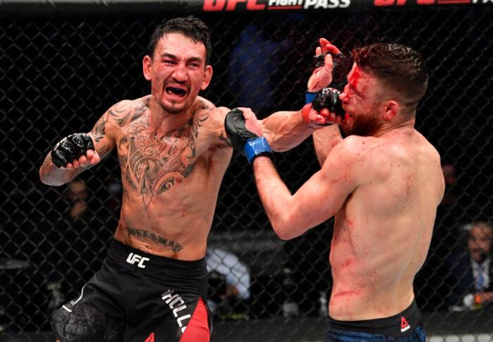 UFCファイトナイト・ファイトアイランド7:マックス・ホロウェイ vs. カルヴィン・ケーター【アラブ首長国連邦・アブダビ/2021年1月17日(Photo by Jeff Bottari/Zuffa LLC)】