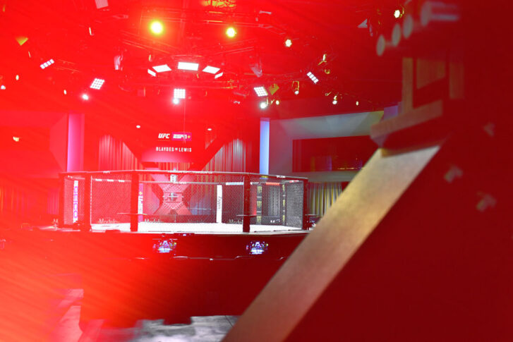 UFCファイトナイト・ラスベガス19:オクタゴン【アメリカ・ネバダ州ラスベガス/2021年2月20日(Photo by Chris Unger/Zuffa LLC)】
