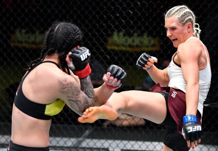 UFCファイトナイト・ラスベガス19:ケトレン・ヴィエラ vs. ヤナ・クニツカヤ【アメリカ・ネバダ州ラスベガス/2021年2月20日(Photo by Chris Unger/Zuffa LLC)】