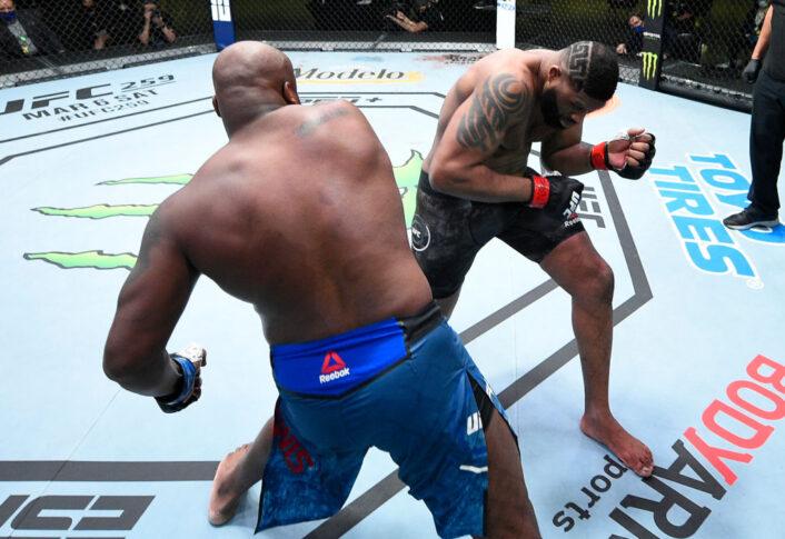 UFCファイトナイト・ラスベガス19:カーティス・ブレイズ vs. デリック・ルイス【アメリカ・ネバダ州ラスベガス/2021年2月20日(Photo by Chris Unger/Zuffa LLC)】