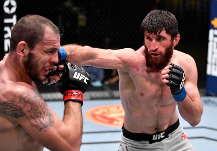 UFCファイトナイト・ラスベガス20:ニキータ・クリロフ vs. マゴメド・アンカラエフ【アメリカ・ネバダ州ラスベガス/2021年2月27日(Photo by Jeff Bottari/Zuffa LLC)】