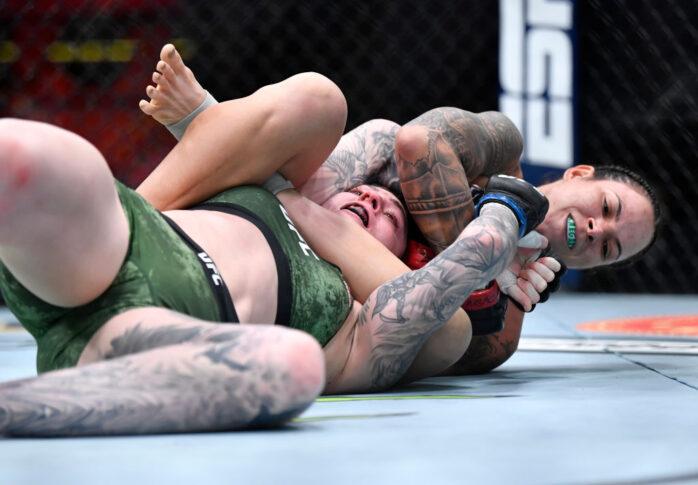 UFC 259:アマンダ・ヌネス vs. ミーガン・アンダーソン【アメリカ・ネバダ州ラスベガス/2021年3月6日(Photo by Chris Unger/Zuffa LLC)】