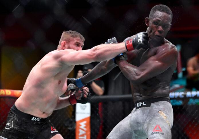 UFC 259:ヤン・ブラホビッチ vs. イズラエル・アデサニヤ【アメリカ・ネバダ州ラスベガス/2021年3月6日(Photo by Chris Unger/Zuffa LLC)】