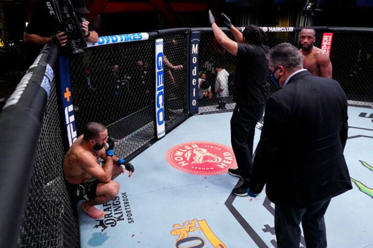 UFCファイトナイト・ラスベガス21:レオン・エドワーズ vs. ベラル・ムハマッド【アメリカ・ネバダ州ラスベガス/2021年3月13日(Photo by Jeff Bottari/Zuffa LLC via Getty Images)】