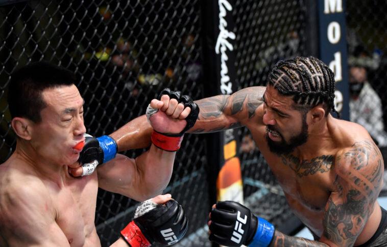 UFCファイトナイト・ラスベガス22:ソン・ケナン vs. マックス・グリフィン【アメリカ・ネバダ州ラスベガス/2021年3月20日(Photo by Chris Unger/Zuffa LLC via Getty Images)】