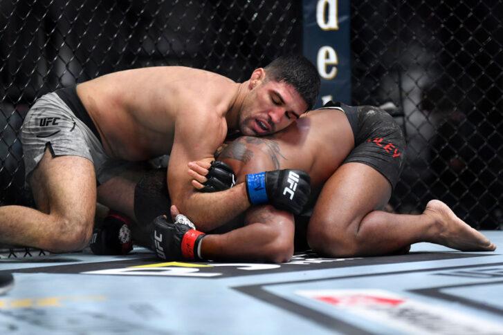 UFC 260:タイロン・ウッドリー vs. ビセンテ・ルーケ【アメリカ・ネバダ州ラスベガス/2021年3月27日(Photo by Chris Unger/Zuffa LLC)】