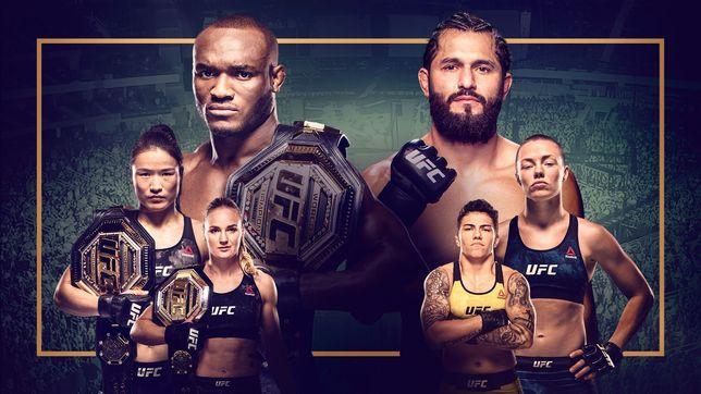 UFC 261:ウスマン vs. マスヴィダル2