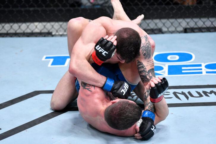 UFCファイトナイト・ラスベガス23:ジム・ミラー vs. ジョー・ソレッキ【アメリカ・ネバダ州ラスベガス/2021年4月10日(Photo by Chris Unger/Zuffa LLC)】