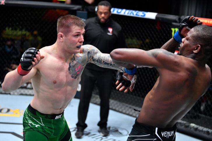 UFCファイトナイト・ラスベガス23:マービン・ヴェットーリ vs. ケビン・ホランド【アメリカ・ネバダ州ラスベガス/2021年4月10日(Photo by Chris Unger/Zuffa LLC)】