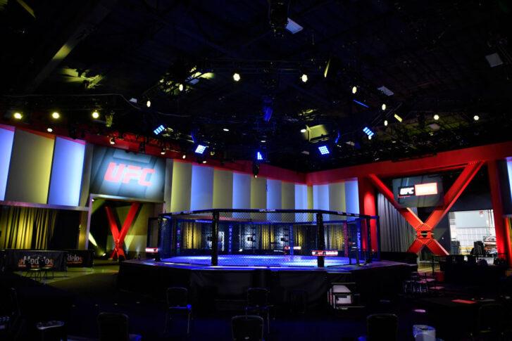 UFCファイトナイト・ラスベガス24:オクタゴン【アメリカ・ネバダ州ラスベガス/2021年4月17日(Photo by Chris Unger/Zuffa LLC)】