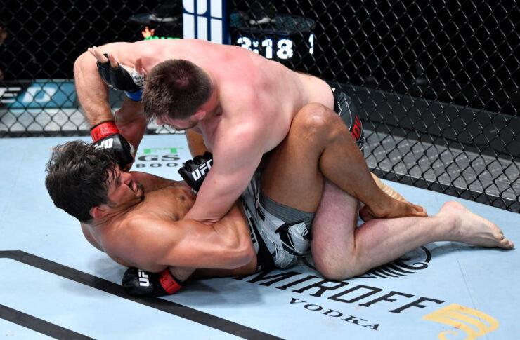 UFCファイトナイト・ラスベガス24:アレクサンドル・ロマノフ vs. フアン・エスピーノ【アメリカ・ネバダ州ラスベガス/2021年4月17日(Photo by Chris Unger/Zuffa LLC)】